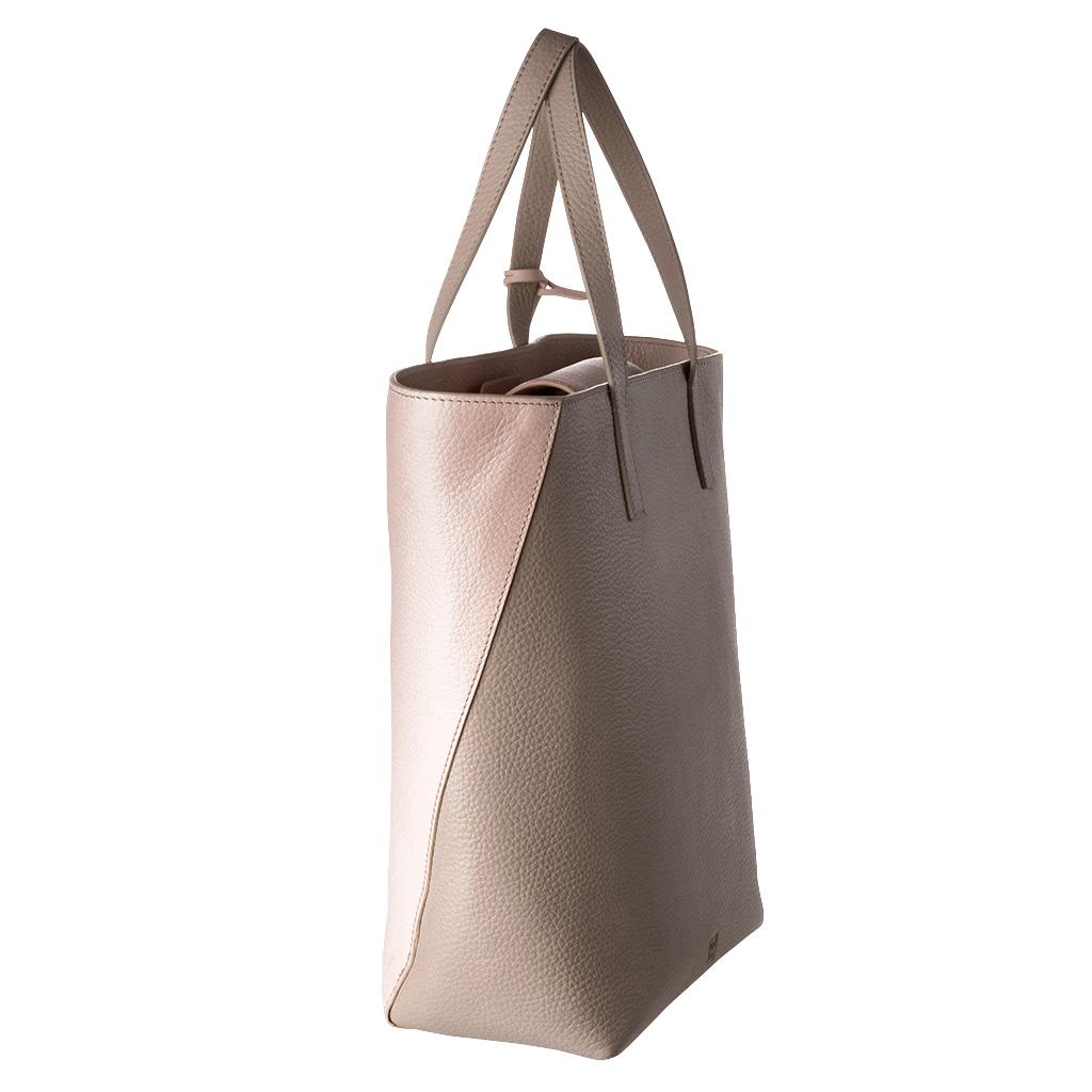 Shopper Avec Femme Poignées Sac Véritable Pour Cuir Dudu En Deux Shopping Grand twXPPqzx