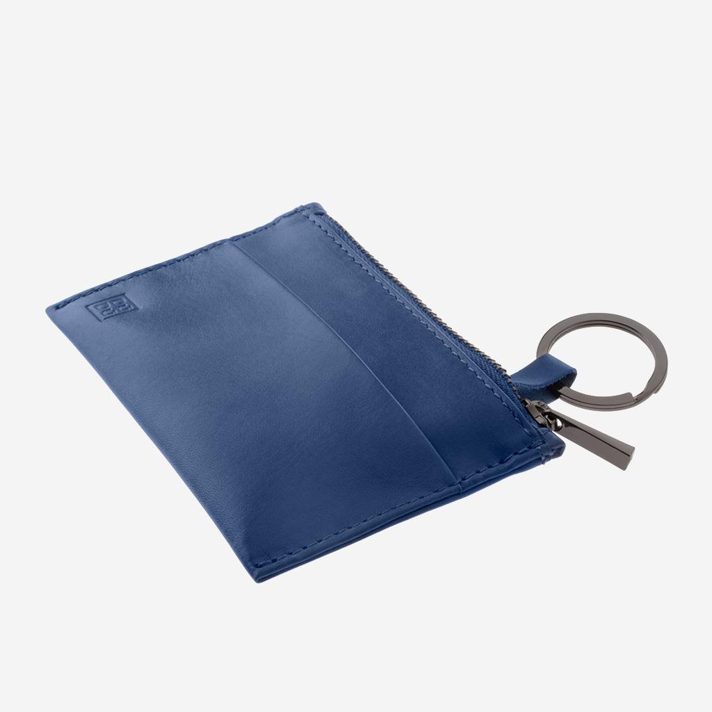 52bc666bf70 Porte-clés en cuir avec fermeture éclair